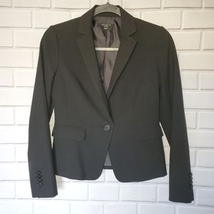 Ann Taylor one button fitted blazer. 0P. Preowned.